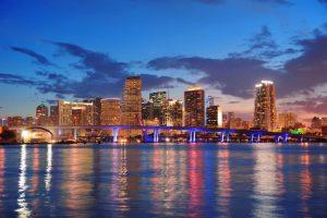 Miami skyline c